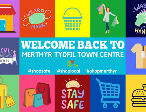 Welcome Back To Merthyr Tydfil Town Centre